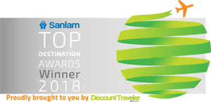 Sanlam Topm Destinationn Award Winner 2018